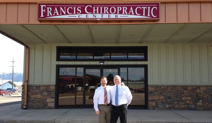 Chiropractors Kalispell MT John Francis Sr. John Francis Jr. office building